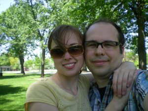 Michael and me at the Park