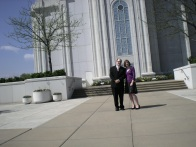 March - visit to the St. Louis Temple