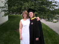 May - Mom came to my graduation!
